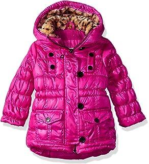 13e79adadba0 Amazon.com: Rothschild Toddler Girls Purple Leopard Print Coat ...