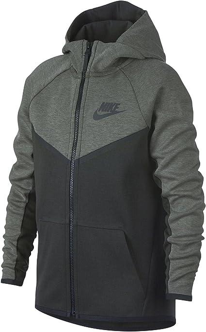 Nike Sweatshirt NSW TCH FLC WR Hoodie fz Enfant garçon