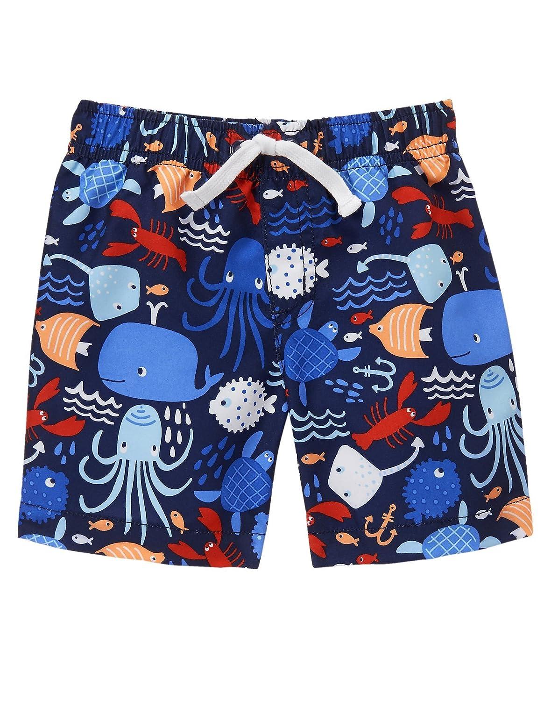 46f88e2732 Amazon.com: Gymboree Baby Toddler Boys' Sea Print Swim: Clothing