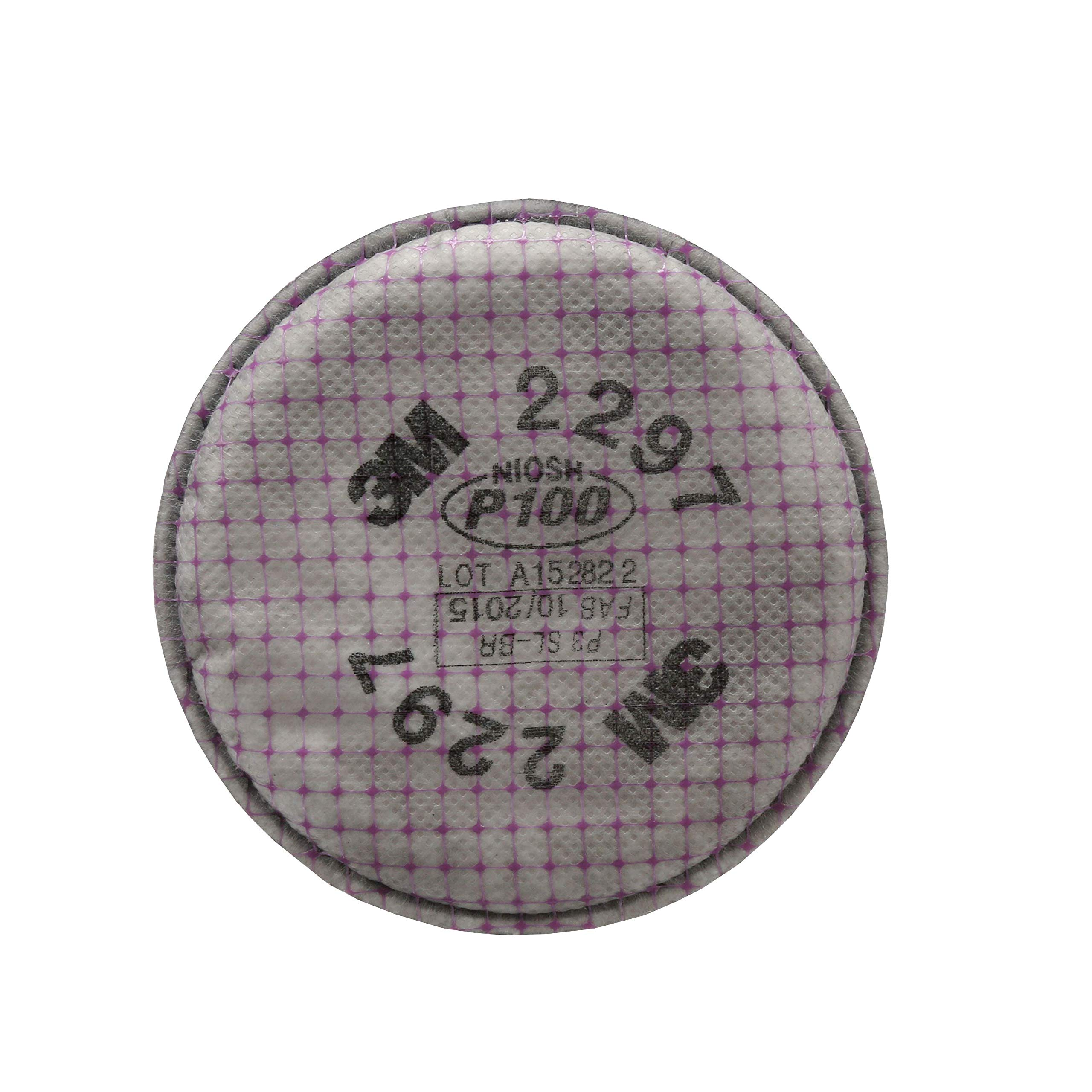 3M Advanced Particulate Filter, 2297, P100 (Pack of 2 Filters)