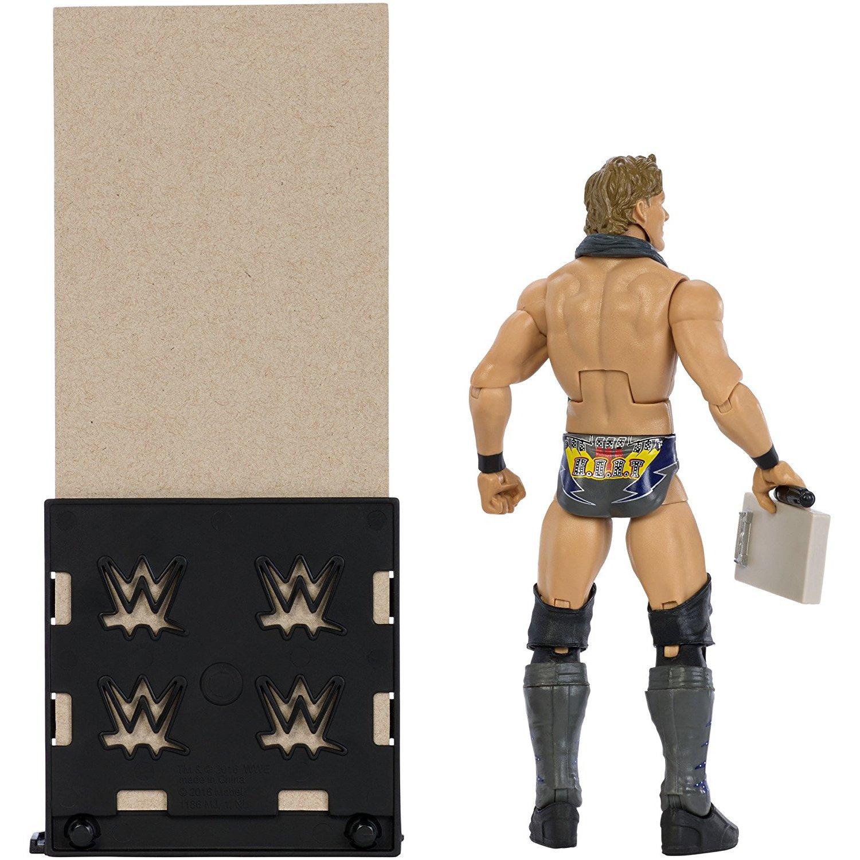 BCC9P40V Mattel Chris Jericho: WWE x Elite Collection Action Figure 1 Official WWE Trading Card Bundle DXJ44