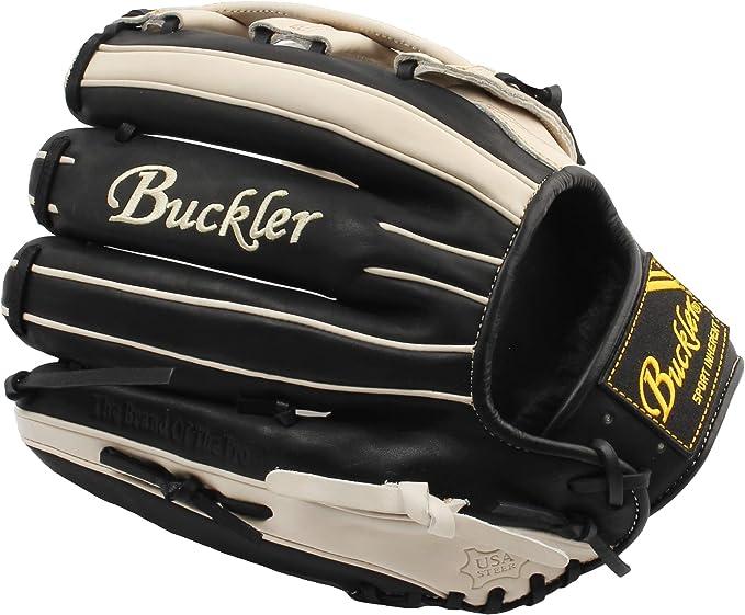 LHT 12.75 RHT First-Base Mitts BUCKLER Phalanx Series Premium USA Steerhide Adult Baseball Gloves