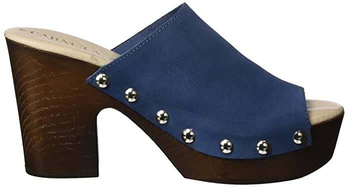 Suede Ladies Shoes, Zuecos para Mujer, Azul (Jeans Jeans), 39 EU Xti