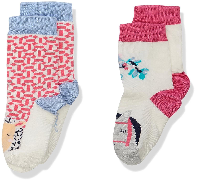 Joules Baby Girls' Neat Feet Socks Pack of 2