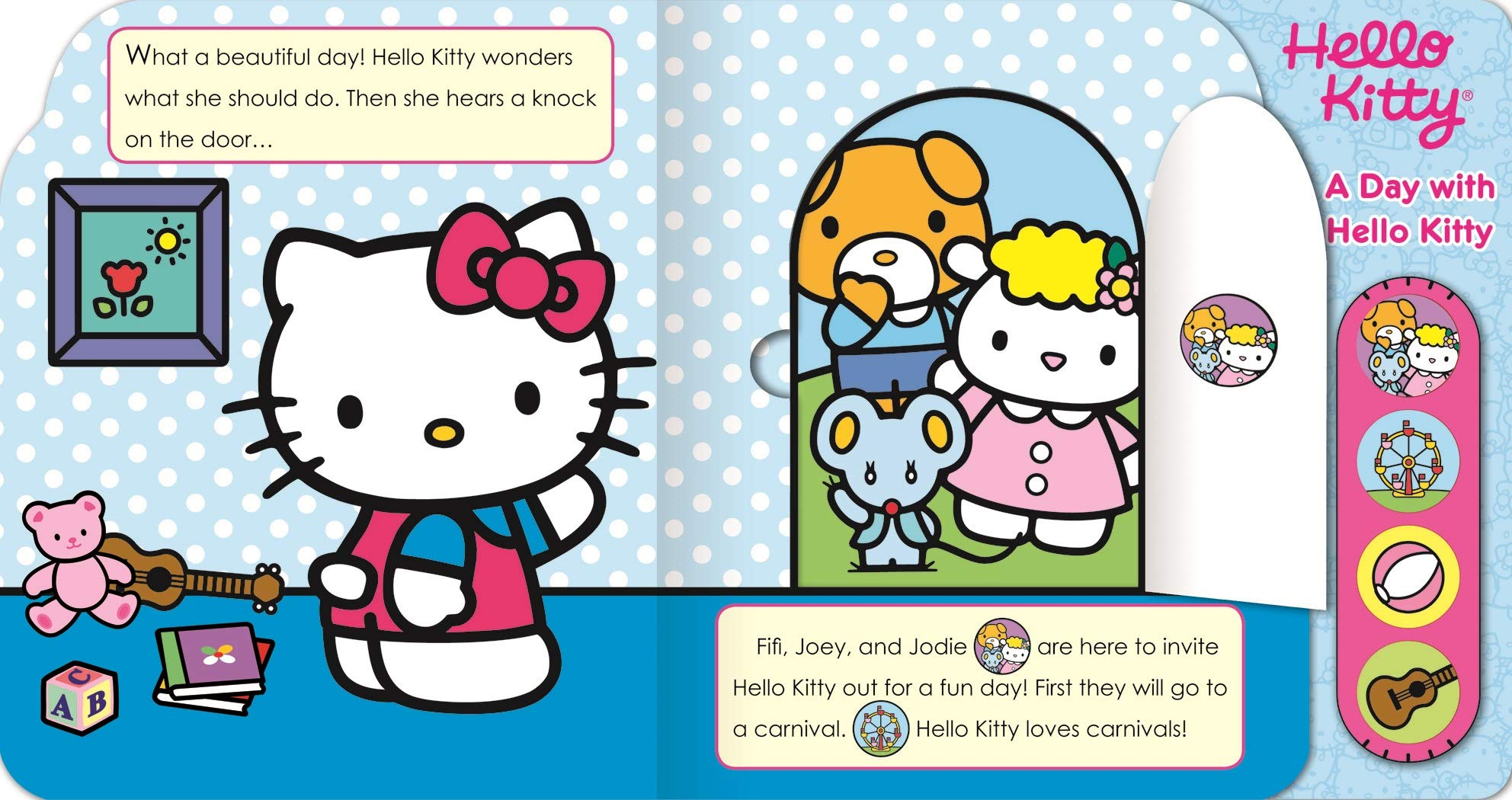 A Day With Hello Kitty Play A Sound Editors Of Publications