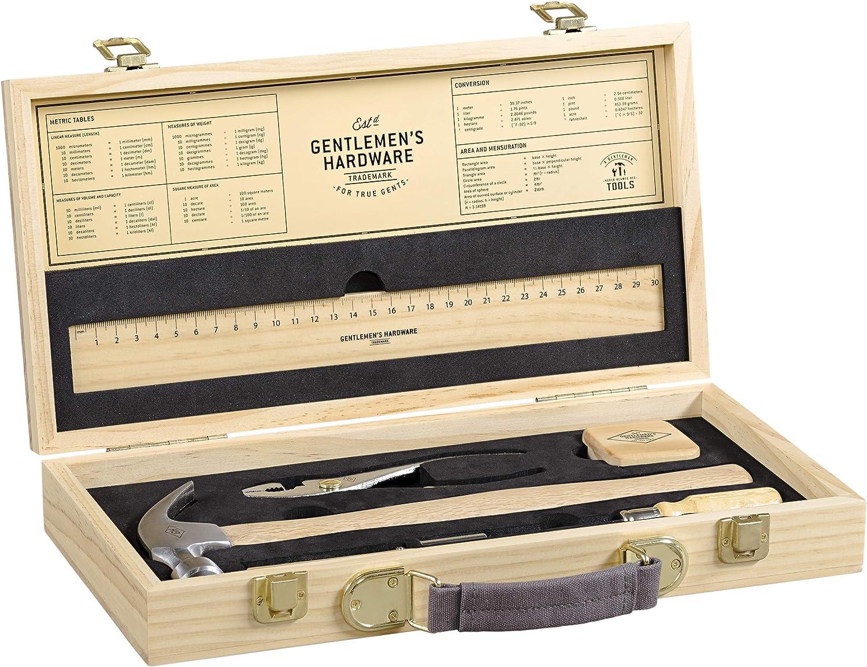 Gentlemens Hardware AGEN283 Caja de herramientas: Amazon.es: Bricolaje y herramientas