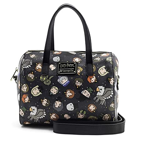 Loungefly Harry Potter Character All Over Print Duffle Bag Purse   Amazon.co.uk  Luggage 872827bd8796c