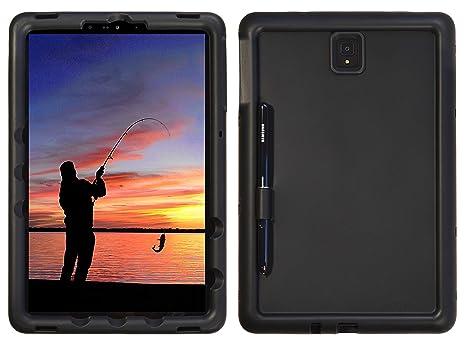 best loved 66c3d 04ffd BobjGear Bobj Rugged Tablet Case for Samsung Galaxy Tab S4 10.5 (SM-T830)  Kid Friendly (Bold Black)