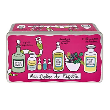 Boite A Pharmacie Bobos De Fille Rose Derriere La Porte Dlp