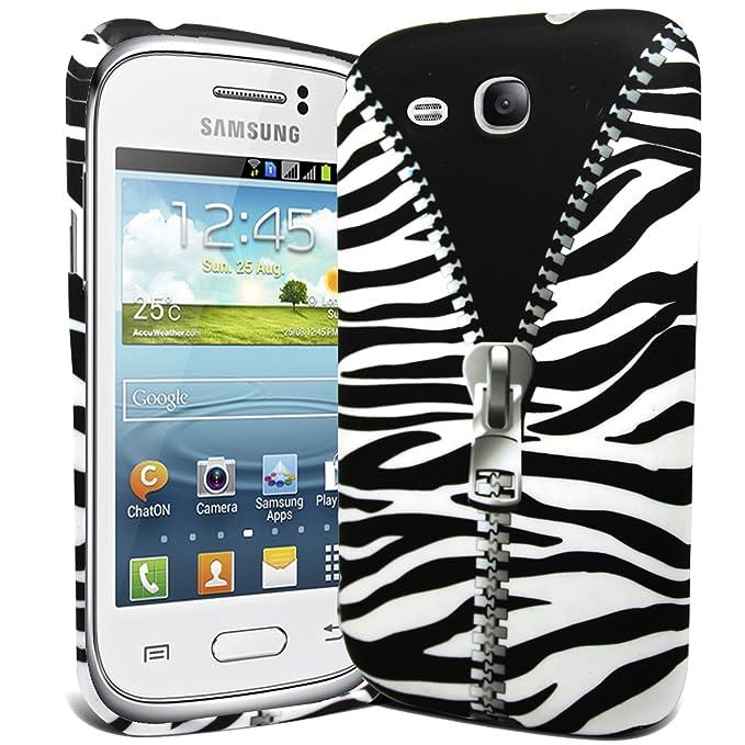 Fi9 - Carcasa de silicona para Samsung Galaxy Young GT-S6310 ...