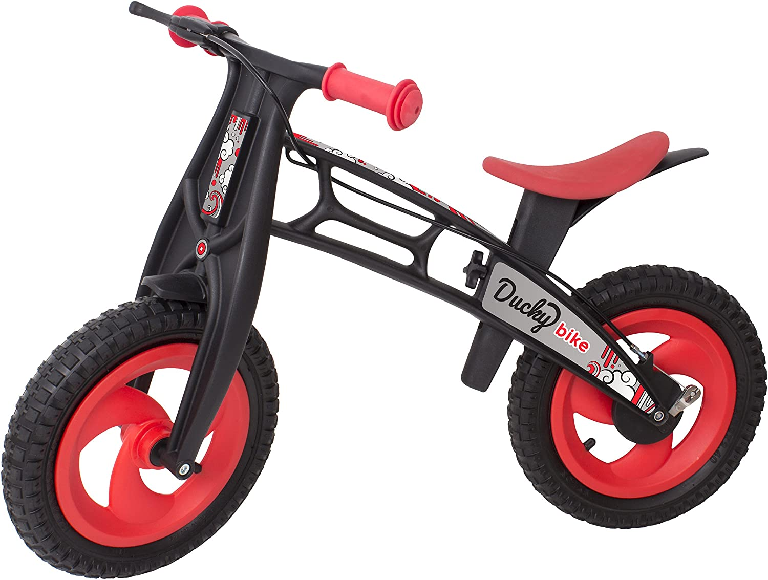 Ducky - Bicicleta evolutiva con Freno, Color Rojo (105): Amazon.es ...