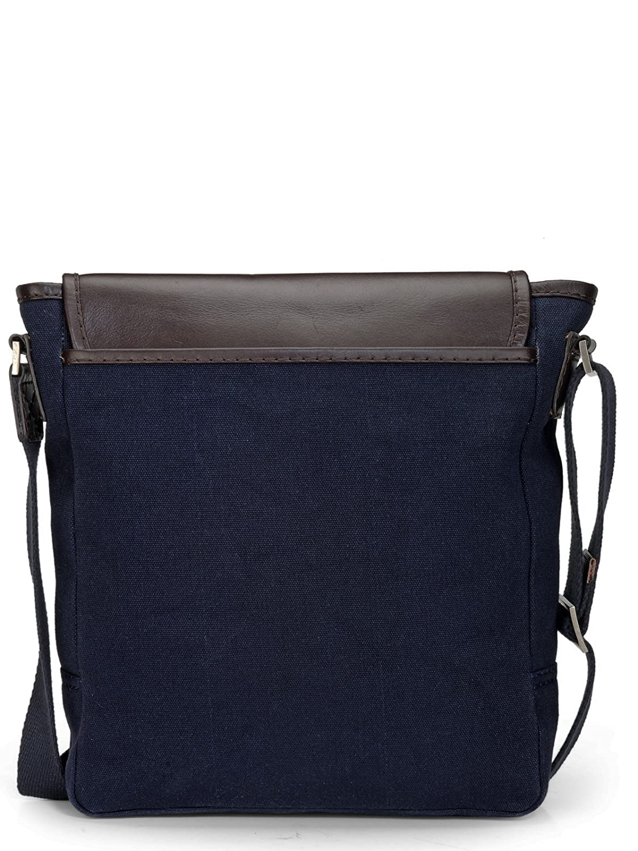 8f85f228ad5b Amazon.com | Phive Rivers Men's Leather Messenger Bag (Blue ...