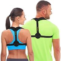 Andego Corrector de Postura Hombre Mujer - Cómodo y Eficaz Faja para Postura de Espalda Hombre para Combatir el Encorvamiento - Mejorar Postura