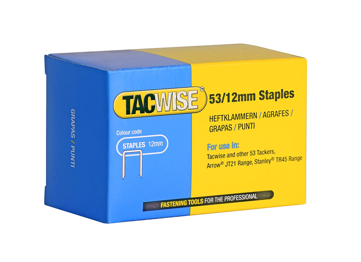 Diy Tools & Workshop Equipment Nail & Staple Guns 12 Mm Quantity 5000x Modern Design Tacwise Staples 140