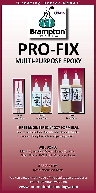 Amazon.com: Brampton Epoxy PRO-FIX 20/20 Long Cure ...