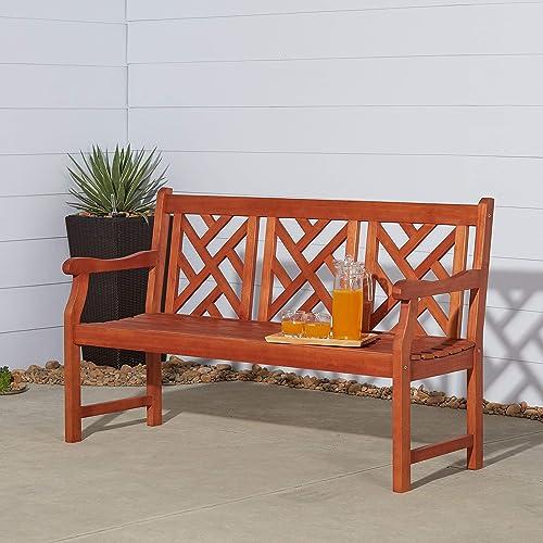 VIFAH V188 Outdoor Wood Bench