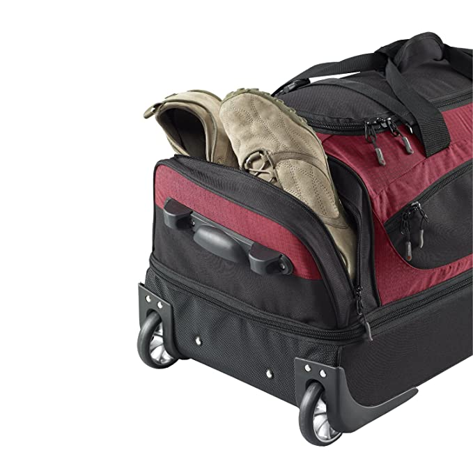 1322ecb72b44 Caribee Scarecrow DX 85 Rolling Duffle  Amazon.co.uk  Luggage