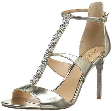 39493fd84b38 Amazon.com  Badgley Mischka Women s Mica Heeled Sandal  Shoes