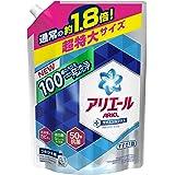 【大容量】 アリエール 洗濯洗剤 液体 イオンパワージェル サイエンスプラス 詰め替え 超特大 1.35kg