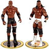 WWE Bobby Lashley vs King Booker Championship Showdown 2 Pack 6 in Action Figures Friday Night Smackdown Battle Pack for Age