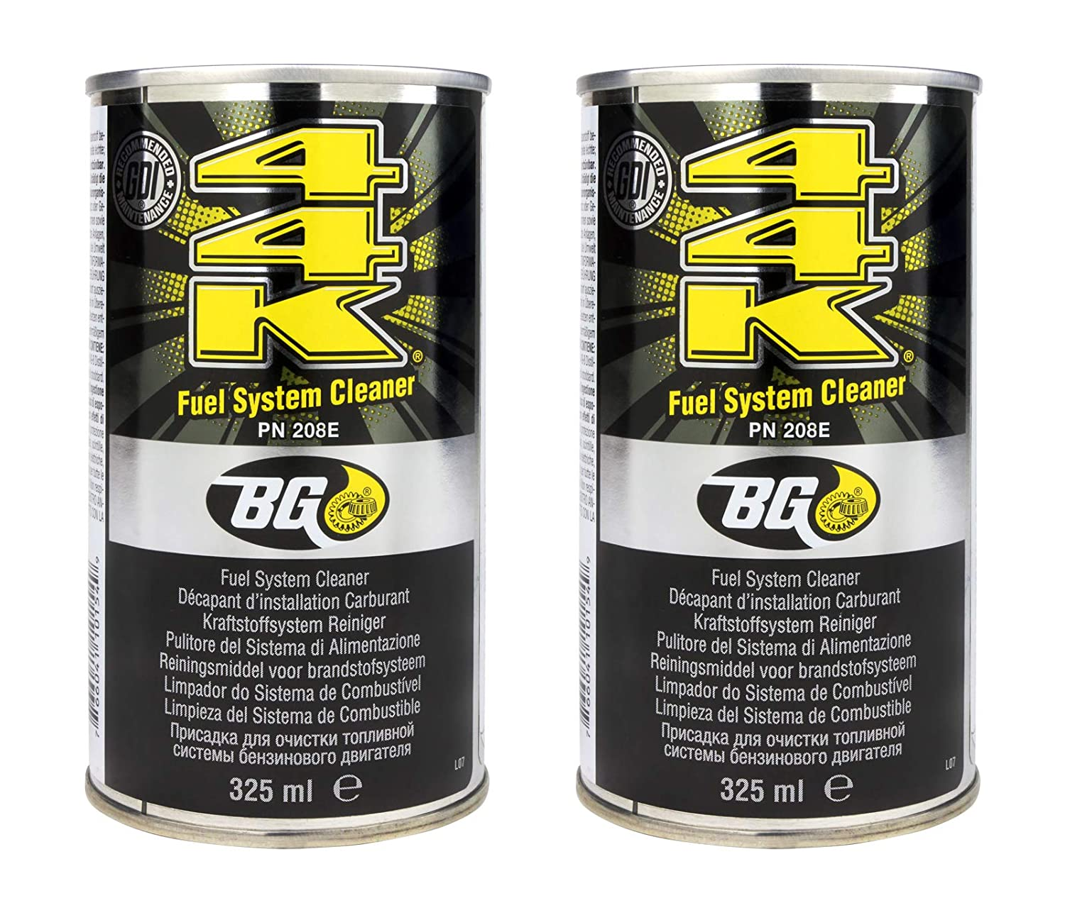 2 x BG 44K Power Enhancer Petrol Fuel System Cleaner (Twin Pack) - Free Delivery
