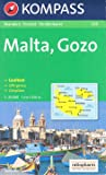 Malta and Gozo Hiking Map 1:25.000 KOMPASS #235