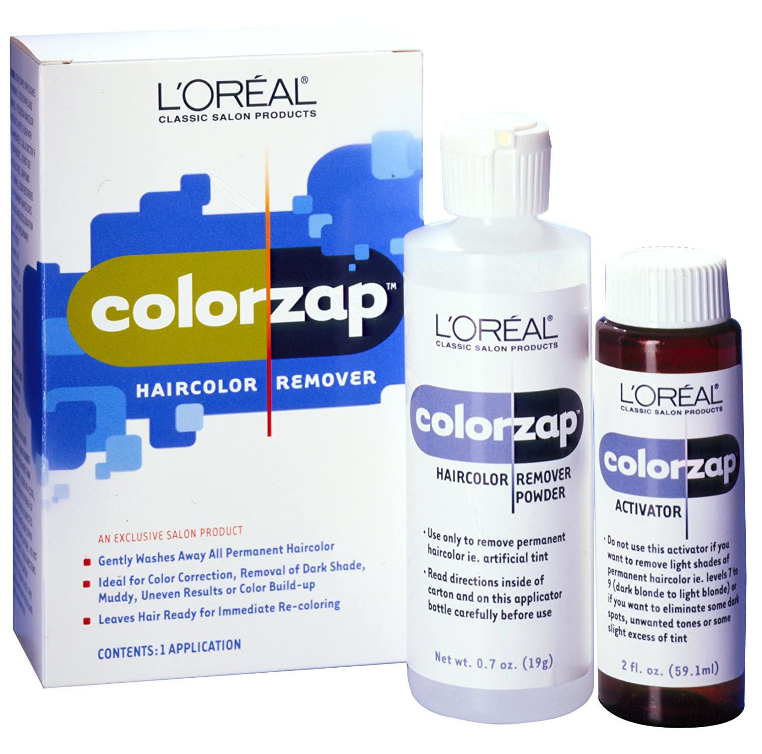 L'Oreal Colorzap Clear Remover Kit (Pack of 2) L' Oreal