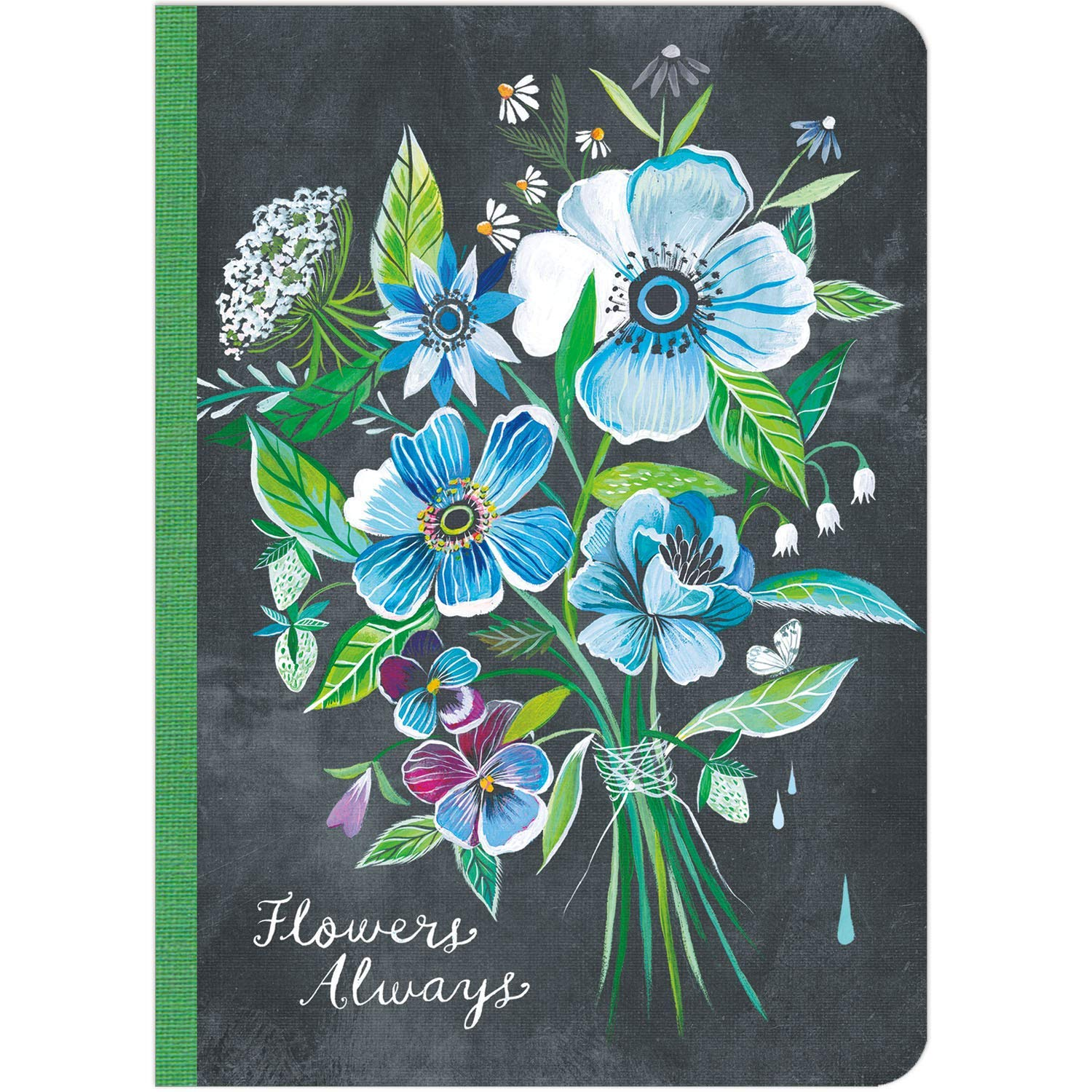 Image for Katie Daisy: Flowers Always Travel-Size Journal (5 x 7, 192 pages)