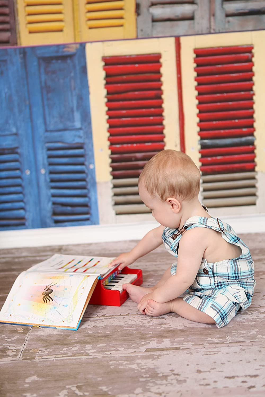 Red Schoenhut Twinkle Tunes Piano Book