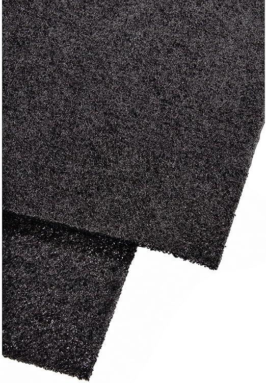 Xavax - Filtro de carbón para campanas de cocina, color negro: Amazon.es: Hogar