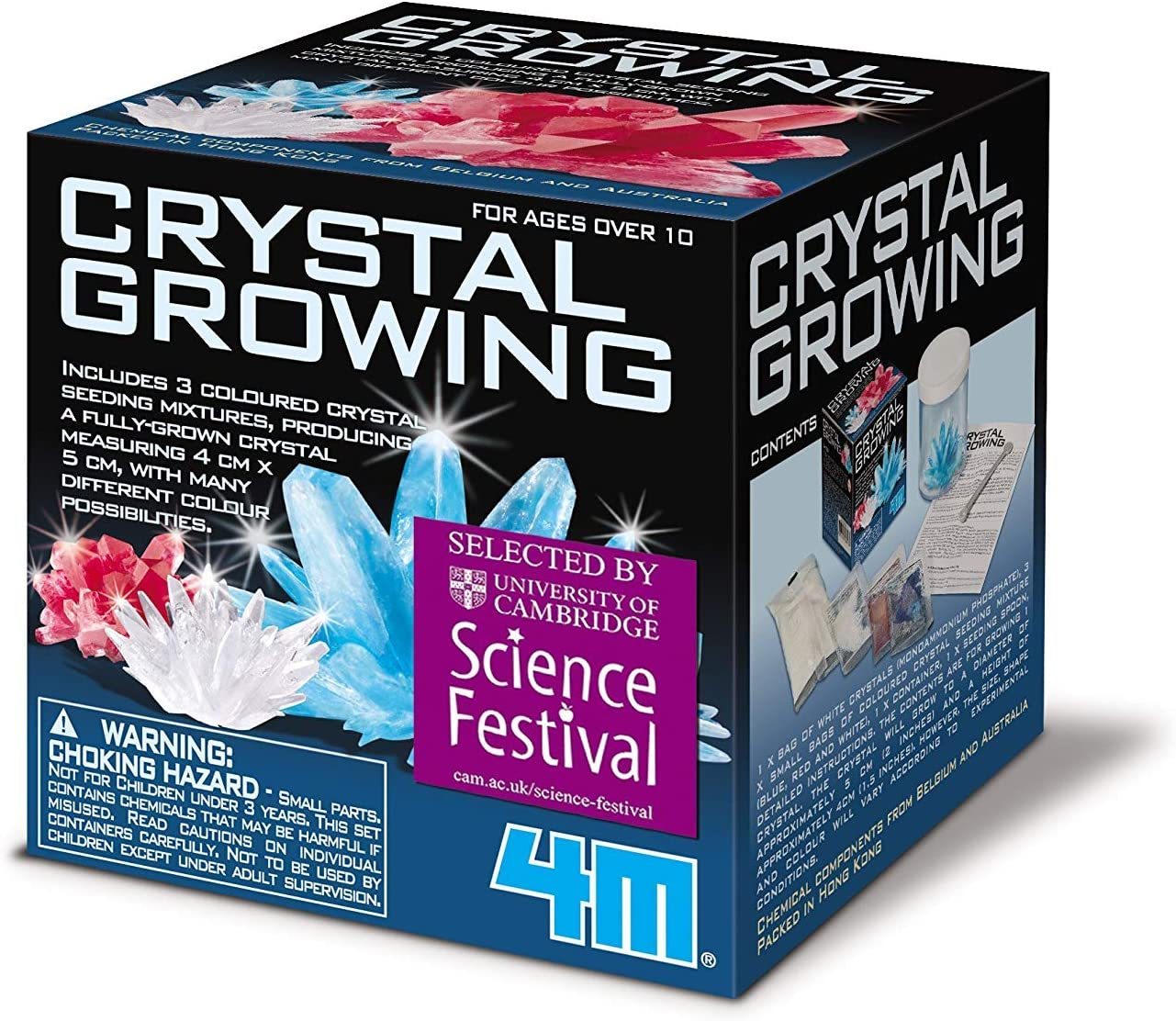 image of Crystal Glowing science experiment set in a box