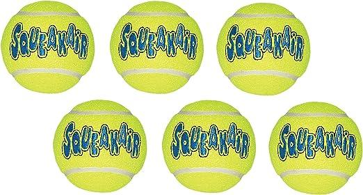 KONG Company Med Bolas de Pelotas de Tenis (Pack de 6): Amazon.es ...