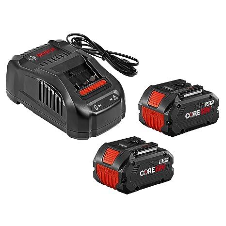 Amazon.com: Bosch GXS18V-13N24 CORE18V Kit de arranque – (2 ...