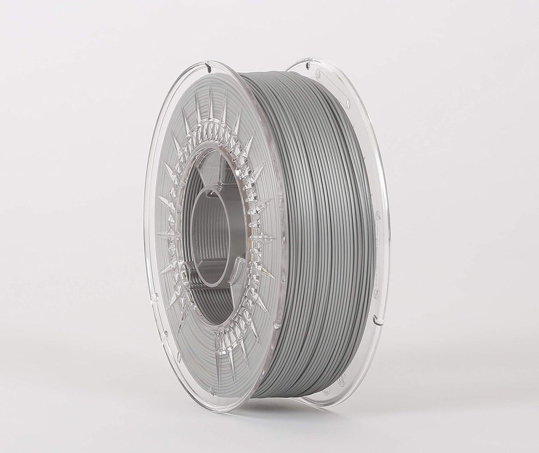 Filamento 3D con cara sonriente, 1,75 mm, 1 kg, ABS Silver Shine ...