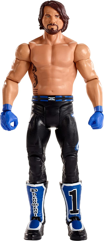 Kids WWE AJ Styles Wristbands TShirt Gloves figure Youth Boys Sweatbands Set