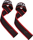 RDX Weight Lifting Straps | Padded Wrist Support Non Slip Flex Gel Grip | Great for Bodybuilding, Powerlifting, Gym Workout, Strength Training, Deadlifts & Fitness Workout