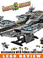 LEGO S.H.I.E.L.D. Helicarrier With Power Functions Review : LEGO 76042