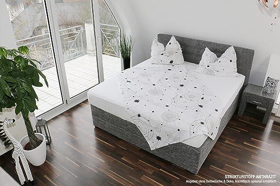 Gallery Of Bellvita Silverline Water Bed With Divan Look Sise Cm X Cm  Anthrazit X Cm Amazoncouk Kitchen Home With Nachttisch Hhe 65 Cm