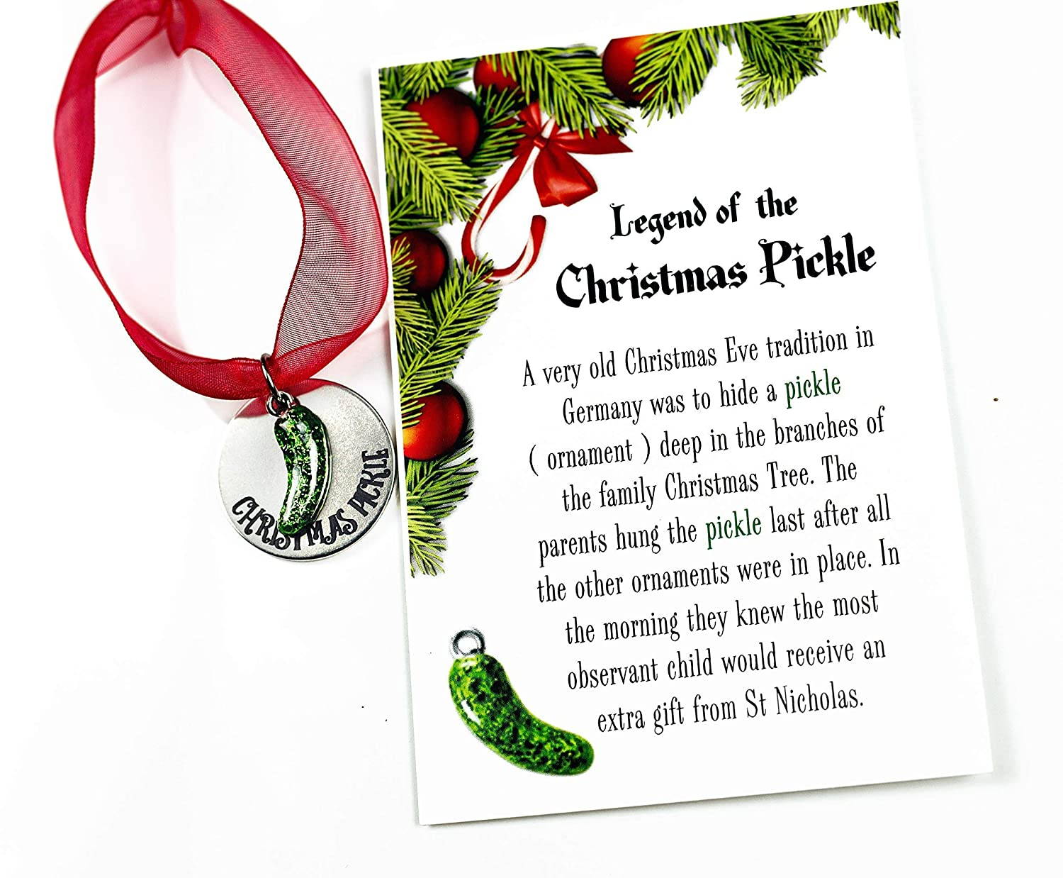 Tradition The Christmas Pickle Poem Printable Wwwtollebildcom