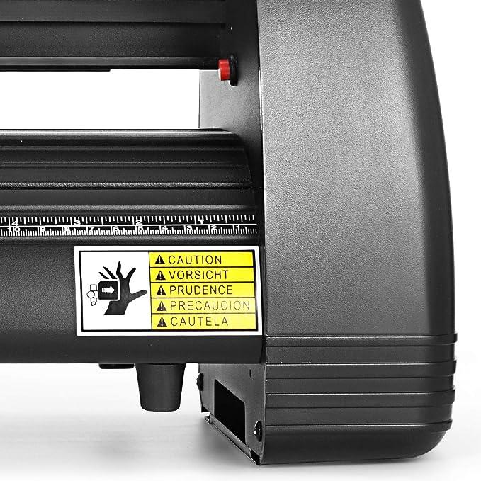 Bisujerro 350mm Plóter de Corte 14 Pulgadas Máquina de Plotter Plóter Máquina para Hacer Signo con Escáner Signmaster Software Cutter Plotter (350mm-B): Amazon.es: Electrónica