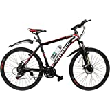 Cosmic Trooper Disc Brake Special Edition 26T 21-Speed MTB Bicycle (Black/Red)