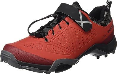 SHIMANO SHMT5OG390SR00 - Zapatillas Ciclismo, 39, Rojo, Hombre: Amazon.es: Zapatos y complementos