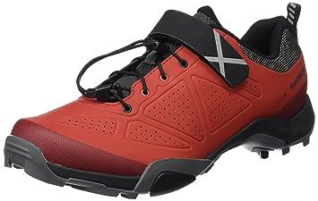 SHIMANO SHMT5OG360SR00 - Zapatillas Ciclismo, 36, Rojo, Hombre: Amazon.es: Deportes y aire libre