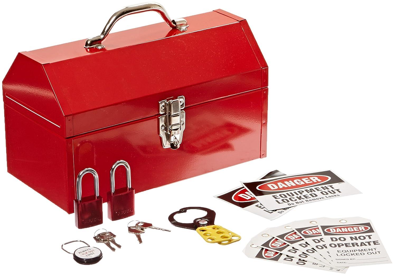 Brady LK628R Prinzing Lockout Kit Color-Coded Red 1 Kit
