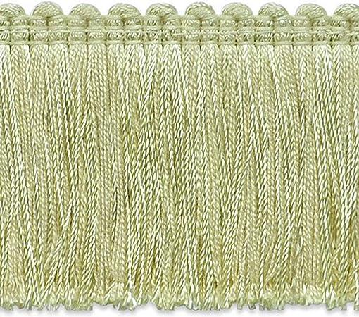 20 yd Expo International Alina Brush Fringe Trim Lime