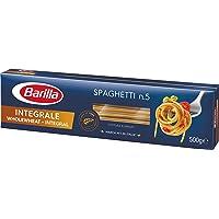 Barilla Pâtes Spaghetti n°5 Intégrale 100% Blé Complet 500 g