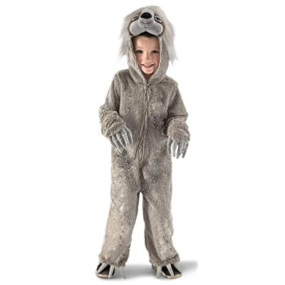 Princess Paradise Swift The Sloth Child's Costume, Small Gray: Toys & Games
