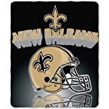 NFL mens NFL Gridiron Fleece Throw, 50-inches x 60-inches