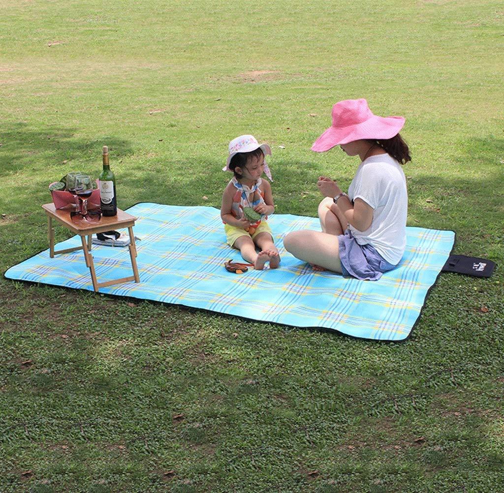 DONGLU Feuchtigkeitsfeste Tuch im Freien gepolsterte Zelt Pad Wasserdichte Wasserdichte Wasserdichte Kissen Picknick-Matte (Farbe   3 ) B07GXL8VM2 | Sehr gelobt und vom Publikum der Verbraucher geschätzt  b0f64d