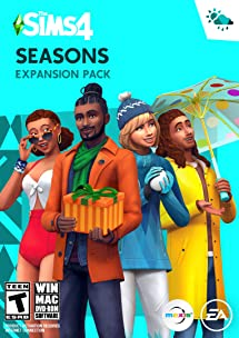 The Sims 4 Seasons - PC: Video Games - Amazon com